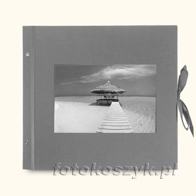 Album Klasyczny Szary Przystań (tradycyjny 40 czarnych stron)  3293