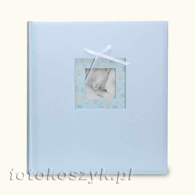 Album Coccole Niebieski (tradycyjny 100 kremowych stron) Zep CC293250 ni
