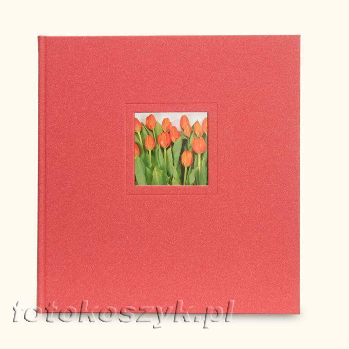 Album Goldbuch Modern Art Czerwony (tradycyjny 60 czarnych stron)