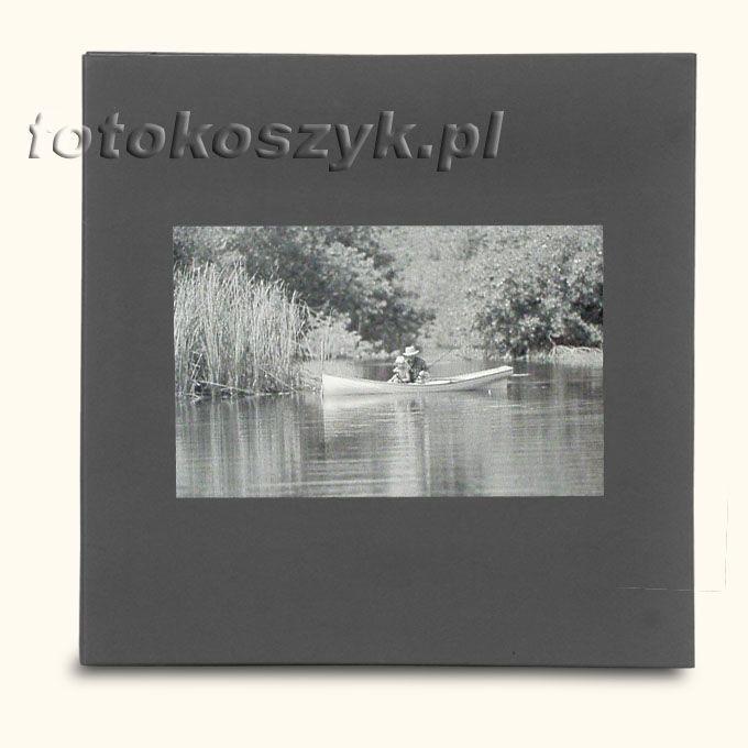 Album Wally Klasyczny Ciemny Łódka (tradycyjny 40 czarnych stron)  3300