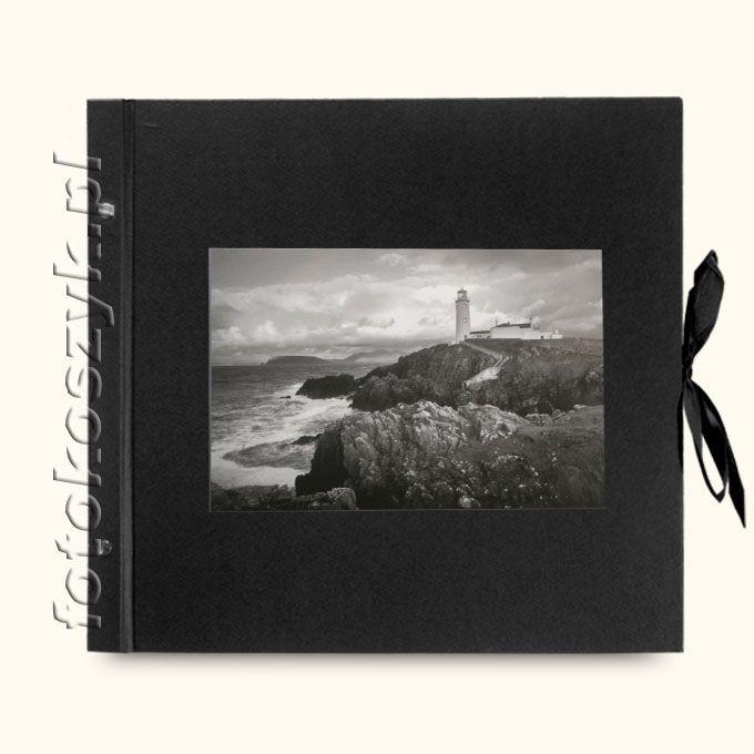 Album Wally Klasyczny Czarny Latarnia (tradycyjny 40 czarnych stron)  3295