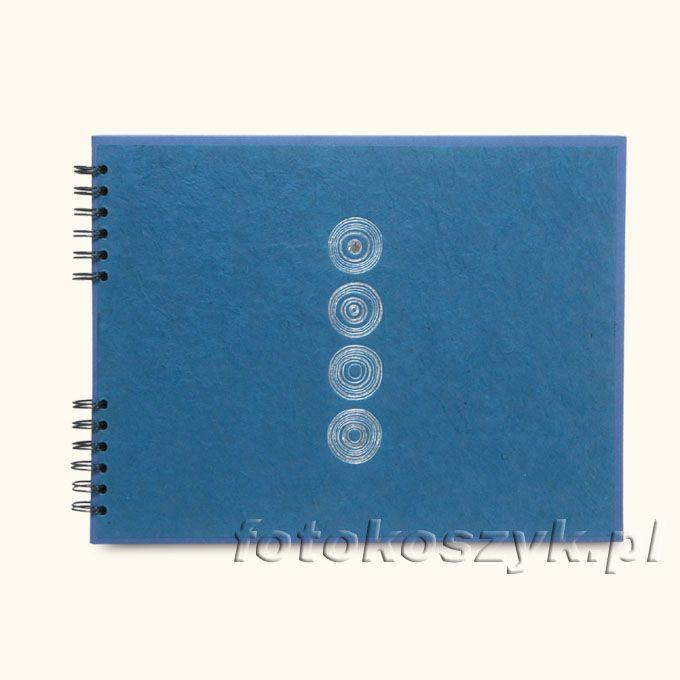 Album Panodia Lazuli Niebieski (tradycyjny 60 czarnych stron) Panodia PL533404