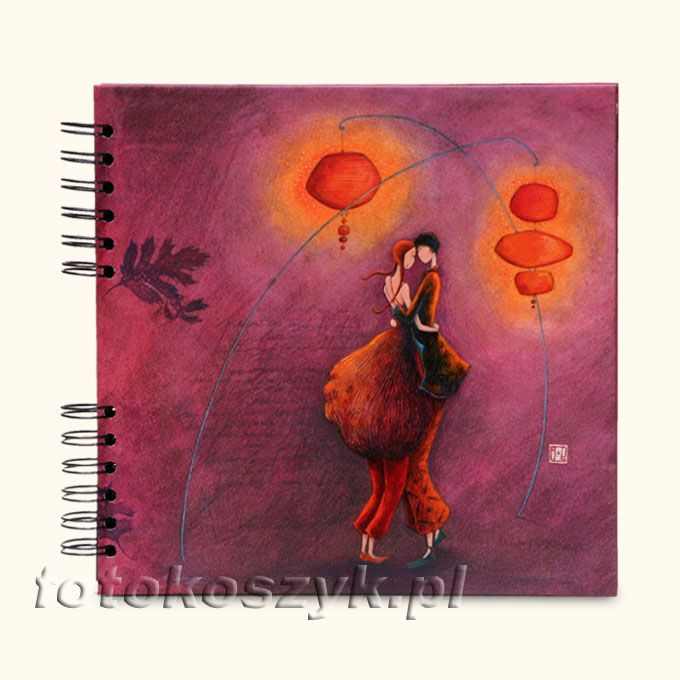 Album Panodia Gaelle Lampiony (tradycyjny 50 czarnych stron) Panodia 270744