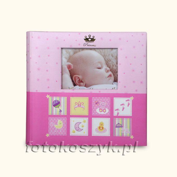Album Dziecięcy Różowy z Ramką (200 zdjęć 10x15) Gedeon BBM46200/2 BABY-3[R]