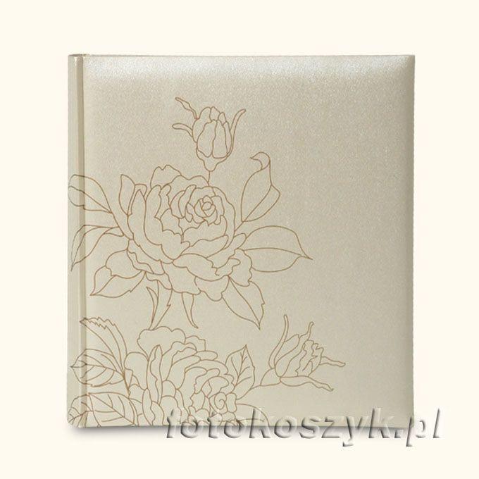 Album Ślubny Gedeon Wedding XL Krem  (tradycyjny 60 białych stron) Gedeon 2356