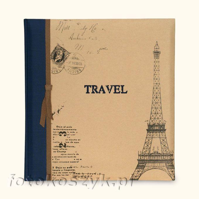 Album ZEP Travel Paryż XL (tradycyjny 60 białych stron) Zep TR293130 gr