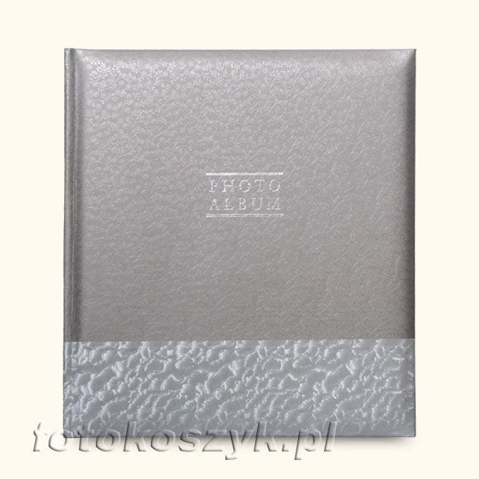 Album Gedeon Prime Srebrny XL (tradycyjny 60 czarnych stron) Gedeon 2584
