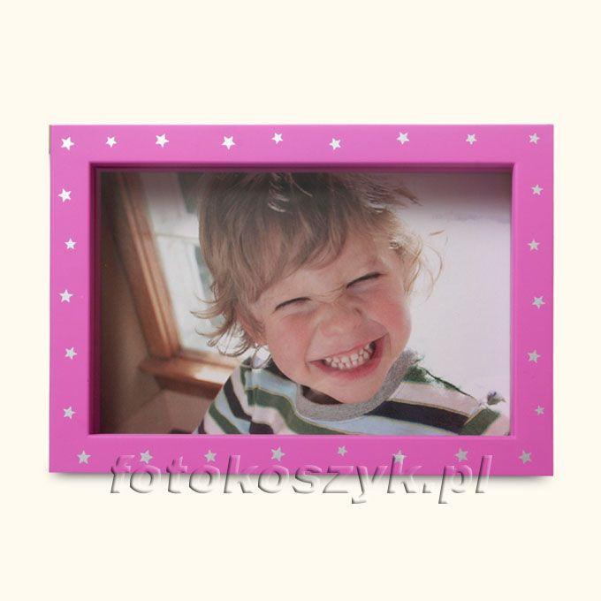 Ramka Henzo Stars Różowa (na zdjęcie 10x15 cm) Henzo 3376