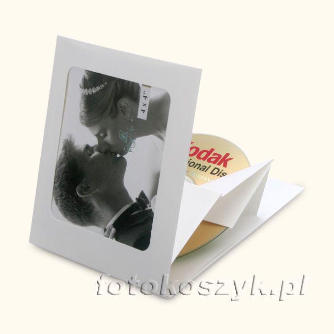 Etui JakeBox Białe (na płytę i zdjęcie) inni producenci 2300