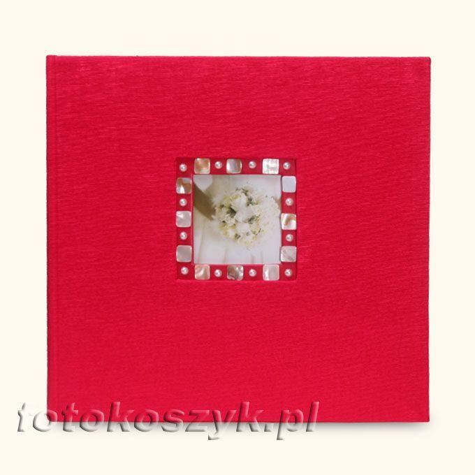 Album Henzo Eleganza Czerwona XL (tradycyjny 60 czarnych stron) Henzo 22.088.03