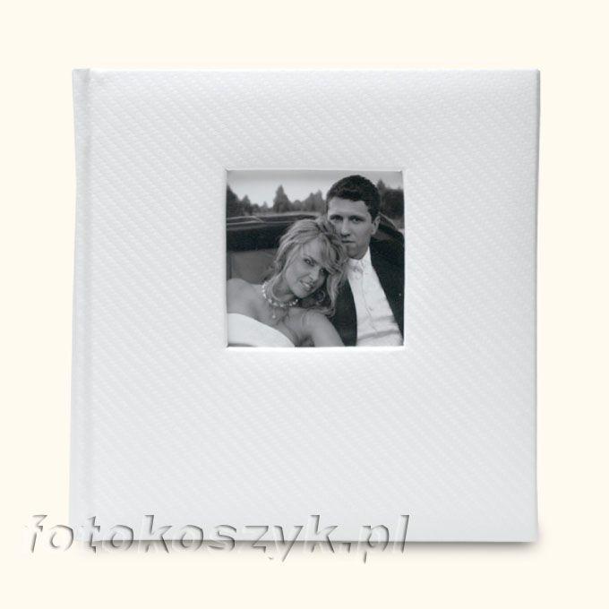 Album Karbon Biały (200 zdjęć 10x15) Gedeon 5717
