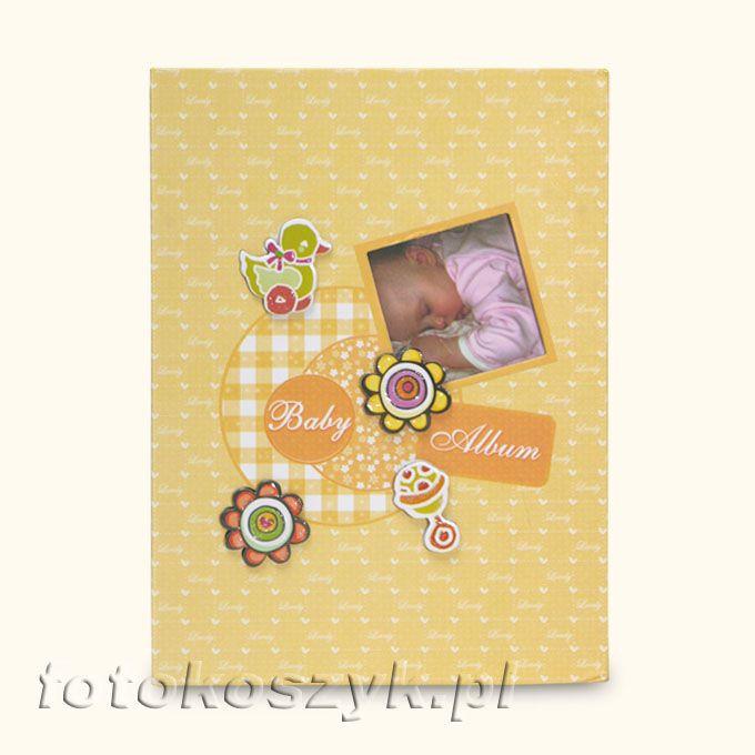 Album Dziecięcy Good Night Żółty (200 zdjęć 9x13) Fandy B-35200S(CB)Z
