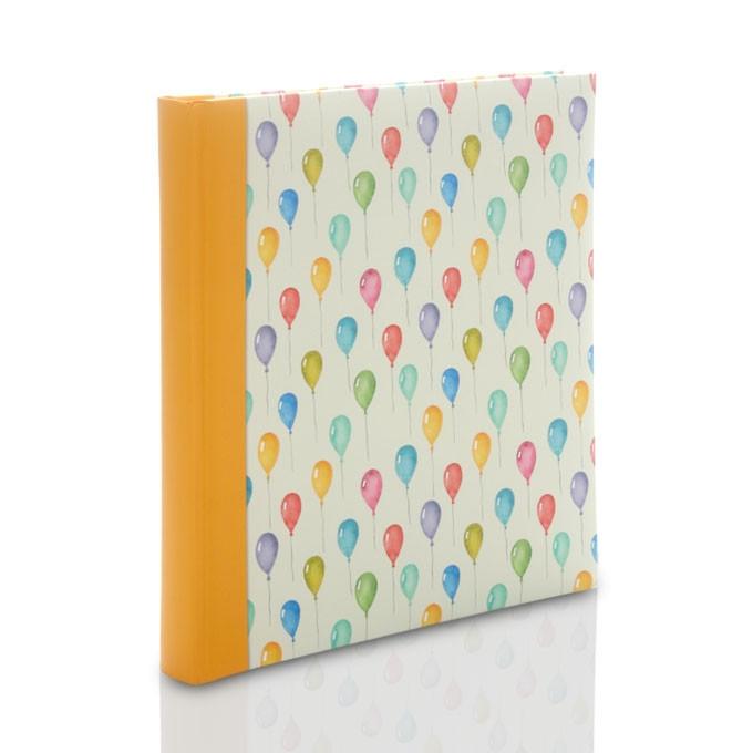 Album Zep Evian kolorowe baloniki (tradycyjny 60 kremowych stron)