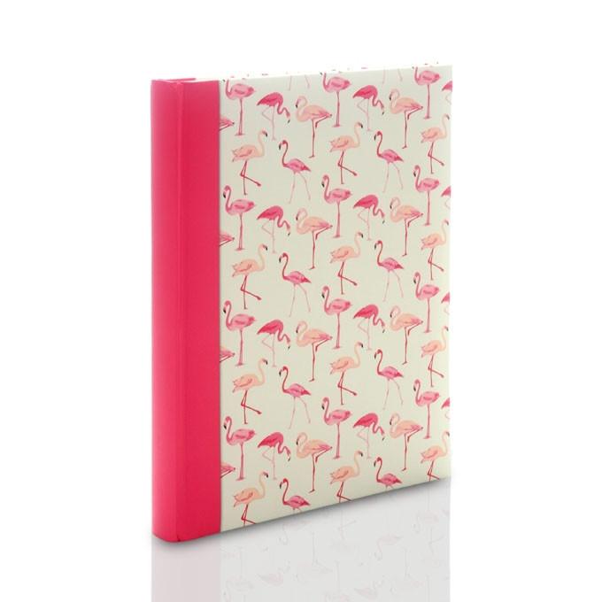 Album Zep Evian Flamingi XL (tradycyjny 60 kremowych stron)