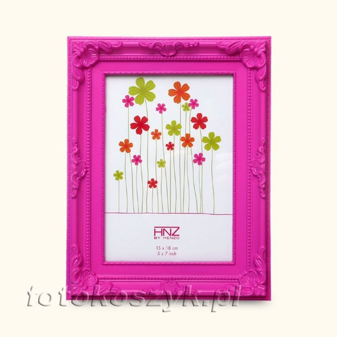 Ramka Henzo Colour Barok Róż (na zdjęcie 13x18) Henzo 80.362.12