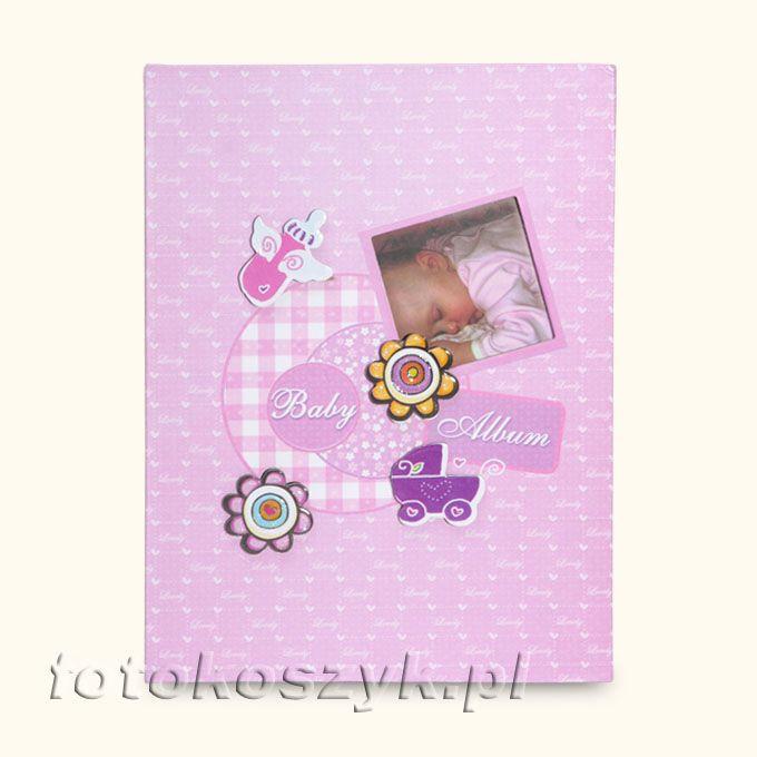 Album Dziecięcy Good Night Róż (200 zdjęć 9x13) Fandy B-35200S(CB)R