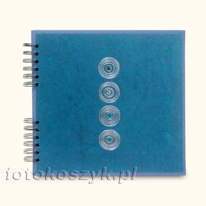Album Panodia Lazuli Niebieski Mały (tradycyjny 60 czarnych stron) Panodia PL532104