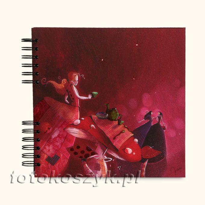 Album Panodia Rachel Czerwony (tradycyjny 40 czarnych stron) Panodia 271042