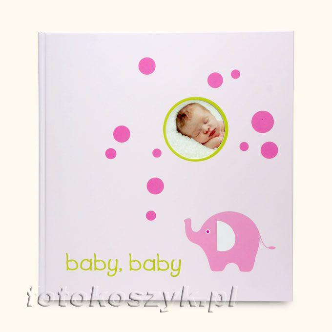 Album Goldbuch Bubbles Róż (tradycyjny 60 białych stron) Goldbuch 4859