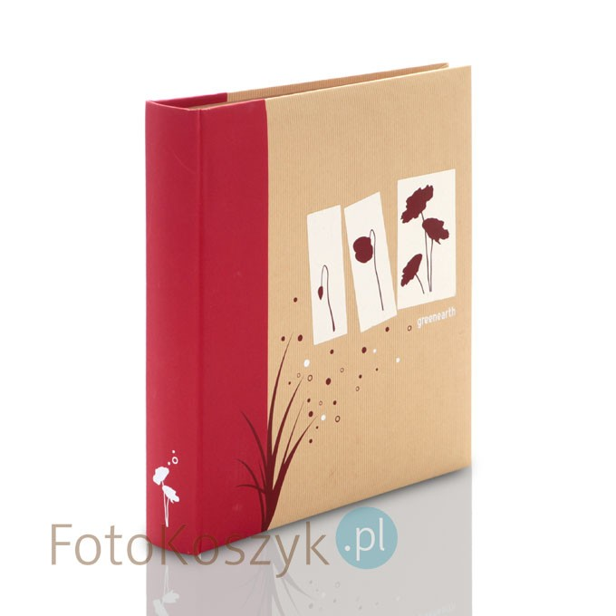 b94e12b51 Album Panodia Greenearth II Czerwony (500 zdjęć 10x15) Panodia ...