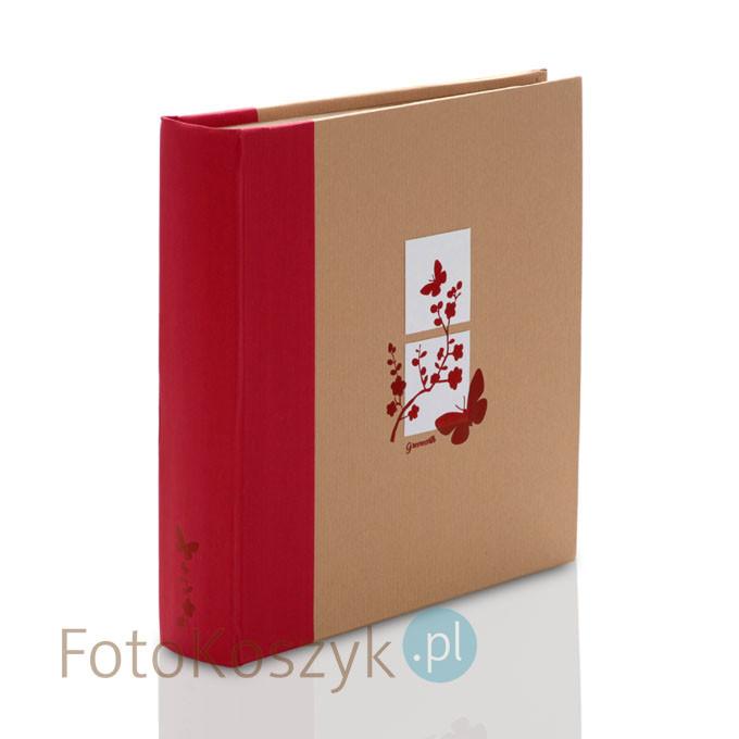 Album Panodia Greenearth 5 czerwony (tradycyjny 100 brązowych stron)