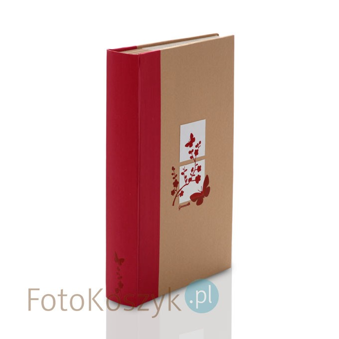 Album Panodia Greenearth 5 Czerwony (300 zdjęć 11,5x15)