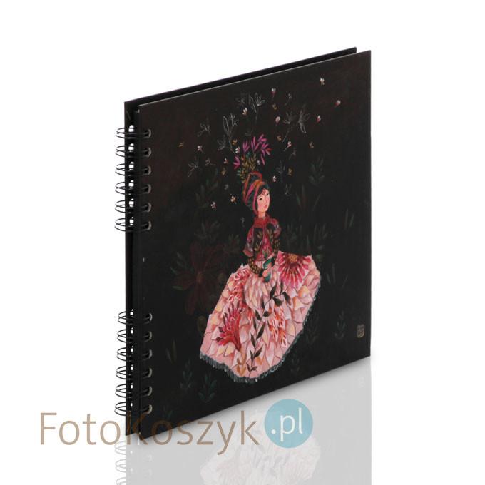 Album Artistes Izou tancerka (tradycyjny 40 czarnych stron)