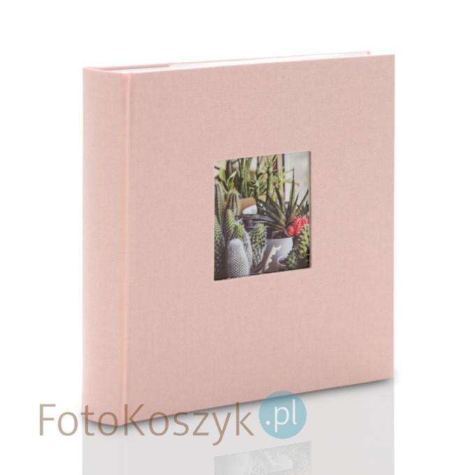 Album Bella Vista pastelowy róż (tradycyjny 60 kremowych stron)
