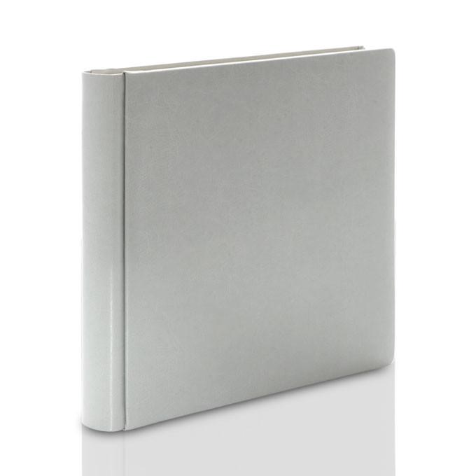 Album Introligatorski TS szary XXL (tradycyjny, 80 czarnych stron)