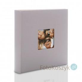 Album na zdjęcia wklejane Fun duży jasno-szary (100 kremowych stron)