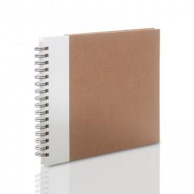 Album Panodia Kraft biały (tradycyjny 60 kremowych stron)