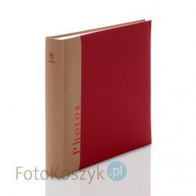 Album Henzo Chapter czerwony XL (tradycyjny 100 białych stron)