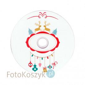 Płyta DVD TS świąteczna renifery (DVD-R 4,7GB 16x)