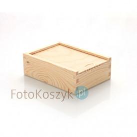Drewniane pudełko na odbitki 10x15