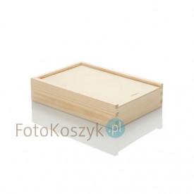 Drewniane pudełko na odbitki 13x18