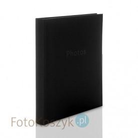 Album ZEP Linen czarny XL (tradycyjny 60 białych stron)