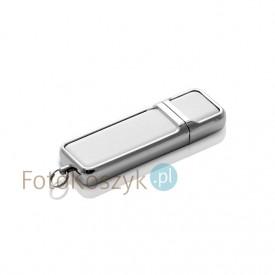 Pendrive MG-USB 2.0 biała skóra (16GB)
