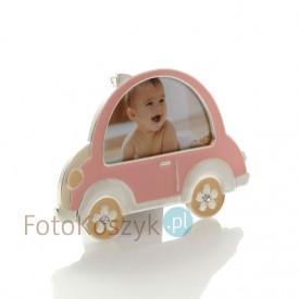 Ramka Dziecięca Auto róż (na zdjęcie 8x5)