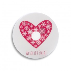 Płyta DVD TS świąteczne serce (DVD-R 4,7GB 16x)