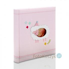 Album Baby's Heaven różowy (200 zdjeć 13x18+opis)