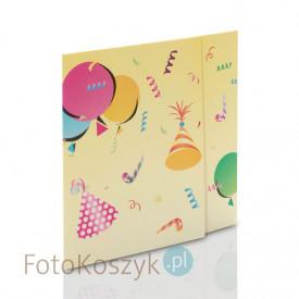 Mini-Album Baloniki - zestaw: 2 zdjęcia 15x21 + zakładka na CD