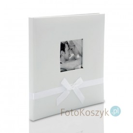Album w pudełku Bekri Biel (tradycyjny 60 kremowych stron)