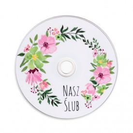 Płyta DVD Nasz ślub kwiaty TS (DVD-R 4,7GB 16x)