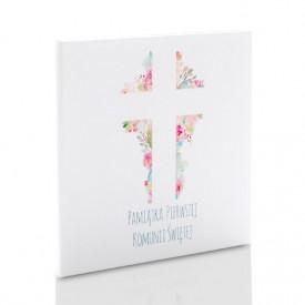 Etui małe TS komunia krzyż (na 2 płyty CD/DVD)