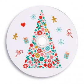 Płyta DVD TS świąteczna choinka (DVD-R 4,7GB 16x)