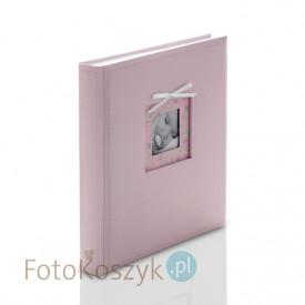 Album Coccole różowy (tradycyjny 80 białych stron)