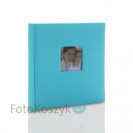 Album Zep Cotton niebieski XL (tradycyjny 60 kremowych stron)