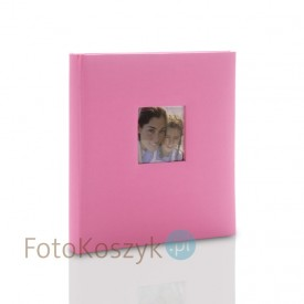 Album Zep Cotton różowy XL (tradycyjny 60 kremowych stron)