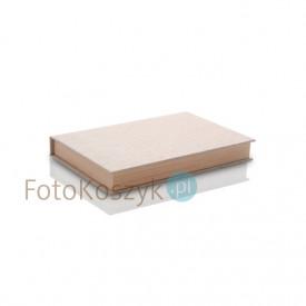 Pudełko na zdjęcia 15x23 i pendrive, płótno+drewno (do 100 zdjęć)