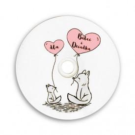 Płyta DVD TS liski dla Babci i Dziadka (DVD-R 4,7GB 16x)